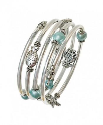 Seller Pearl Silver Slinky Bracelet - CU188AM4KQA