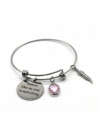 Stainless Steel Adjustable Bracelet- Dance Like No One is Watching- ASB03 - C2185NCGEAS