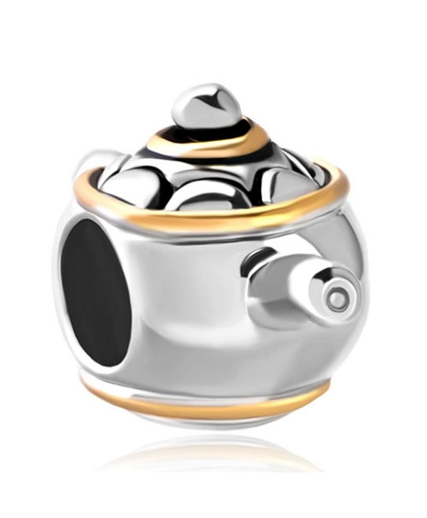 CharmsStory Teapot office Charms Beads Charm For Bracelets - CI11RB93Y0X