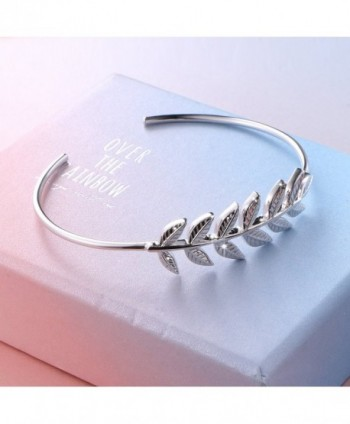 ATHENAA Sterling Silver Adjustable Bracelet in Women's Bangle Bracelets