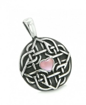 Amulet Protection Simulated Pendant Necklace
