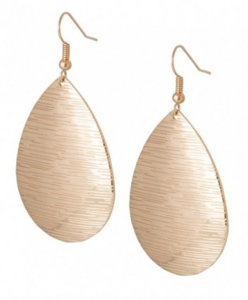 Gold and Silver Teardrop Earrings for Women | SPUNKYsoul Collection - CH183MUDDI8