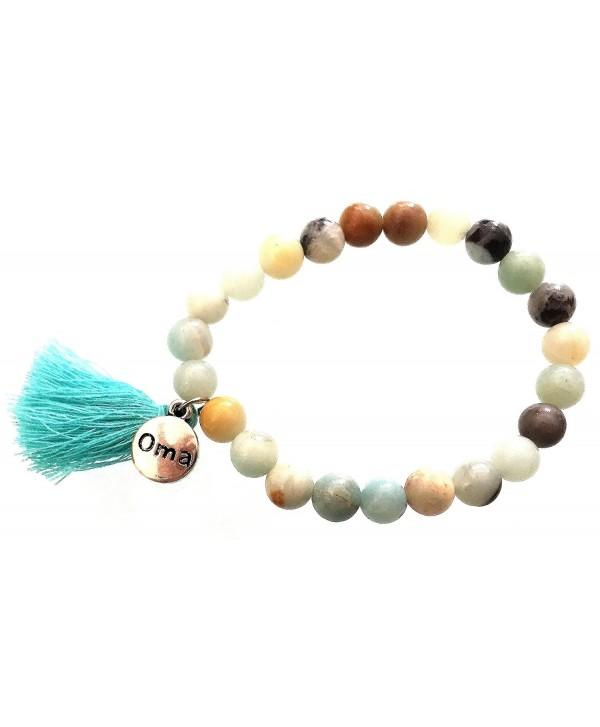 Buddha Healing Gemstone Lava Stone Chakra Bracelet For Yoga And Meditation - OMA BRAND - C71155NWIIL