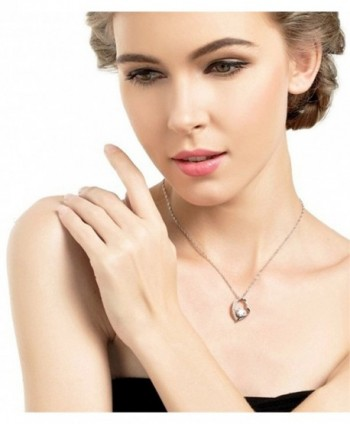INMIX Pendant Necklace Zirconia Jewelry in Women's Pendants