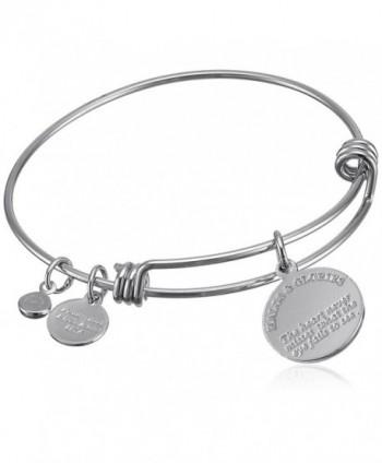 Halos Glories Silver Bangle Bracelet