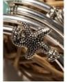 Seller Pearl Silver Slinky Bracelet in Women's Wrap Bracelets