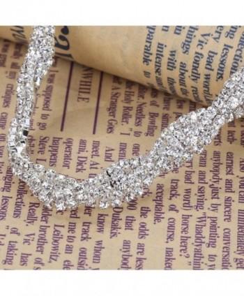 ... YAZILIND Shining Twisted Necklace Earrings in Women's Jewelry Sets