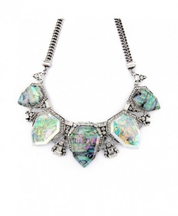 Fit Crystal Statement Necklace Fashion in Women's Choker Necklaces