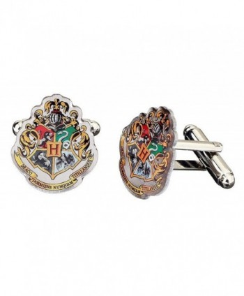 Official Harry Potter Hogwarts Crest Cufflinks - CE12BVSPNY9
