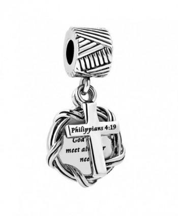 LilyJewelry Dangle Christian Bracelets Style02