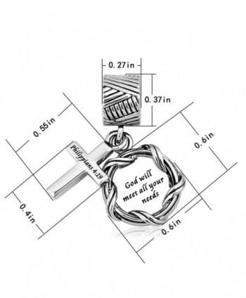 LilyJewelry Dangle Christian Bracelets Style02 in Women's Charms & Charm Bracelets