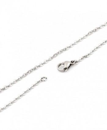 SHINYSO stainless Silver Womens Necklace in Women's Chain Necklaces