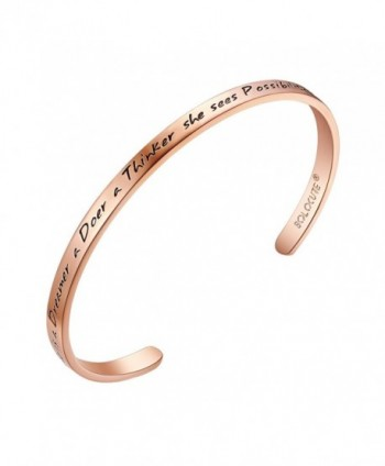 SOLOCUTE Inspirational Possibility everywhere Anniversary - Rose Gold - C3182WGOHKA
