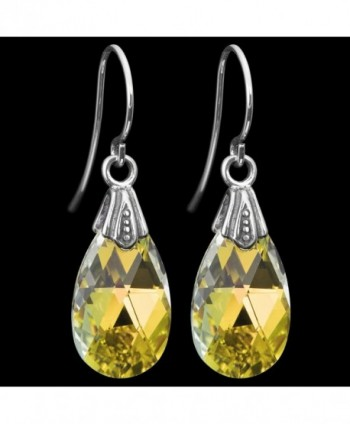 Queenberry Borealis Swarovski Elements Teardrop