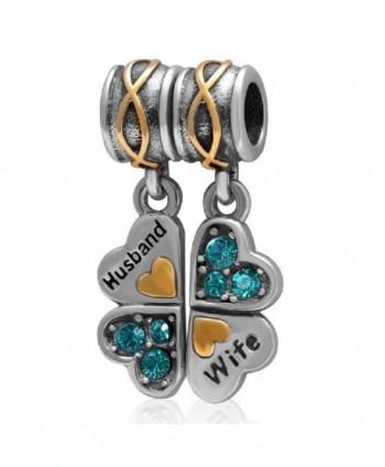 Sterling Dangling Husband European Bracelets - CA17YDTIGS9