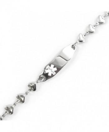 MyIDDr Pre Engraved Customized Dementia Bracelet in Women's ID Bracelets