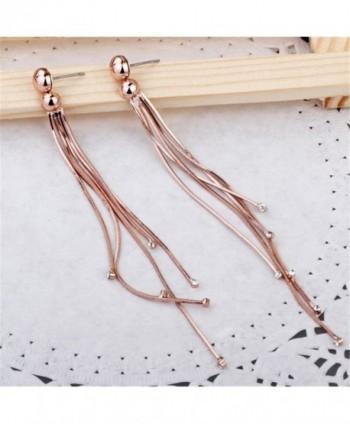 Carfeny Crystal Simple Wedding Earrings in Women's Drop & Dangle Earrings