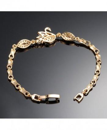 Plated Cubic Zirconia Tennis Bracelet in Women's Strand Bracelets