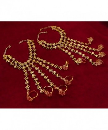 Matra Indian Goldplated Bracelet Jewelry in Women's Jewelry Sets