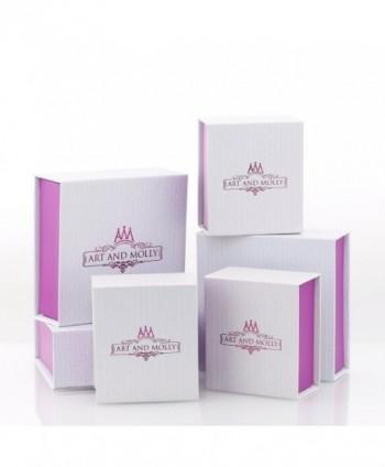 White Cubic Zirconia Princess Earrings