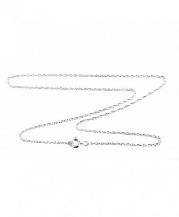 1.4mm Sterling Silver Double Rope Chain Necklace - CR1196N1XX7