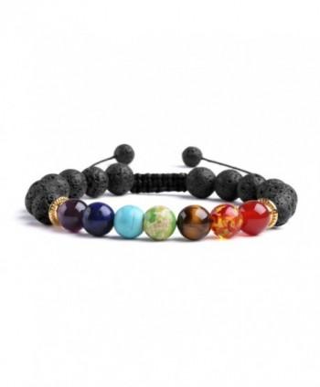 J F%C3%A9e Healing Adjustable Bracelet Diffuser - 7 Chakras Woven - CX188XX09AY