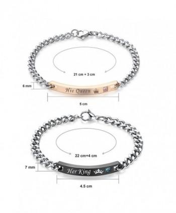 Gagafeel Matching Titanium Stainless Bracelet