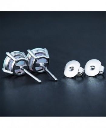 Easthors Sterling Silver Created Earrings