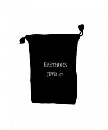 Easthors Sterling Silver Created Earrings in Women's Stud Earrings