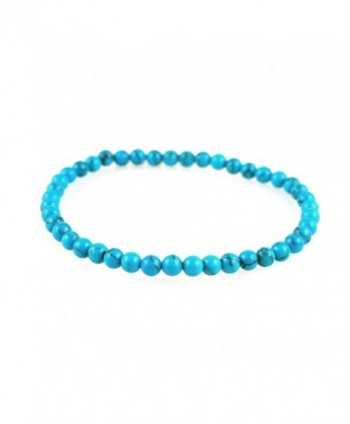 Power Mini Simulated Turquoise Howlite Bracelet - Connecting - CR1172OT1YP