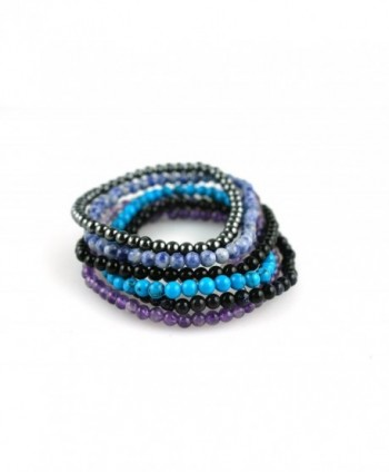 Power Simulated Turquoise Howlite Bracelet