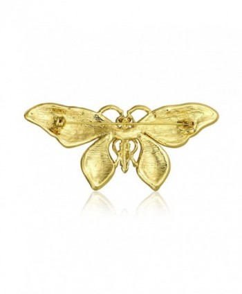 Bling Jewelry Plated Crystal Butterfly
