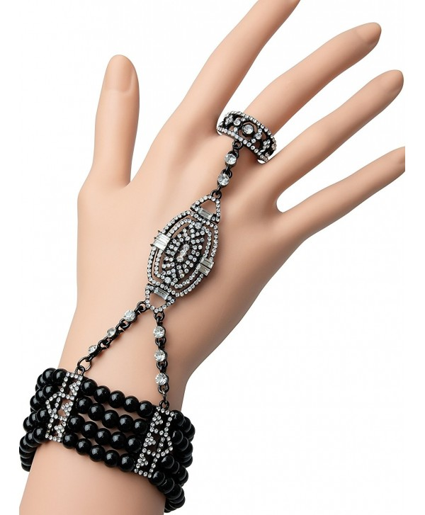 Bracelet Accessories Imitation Austrian Crystals - Z-Black - CZ18560ROSO
