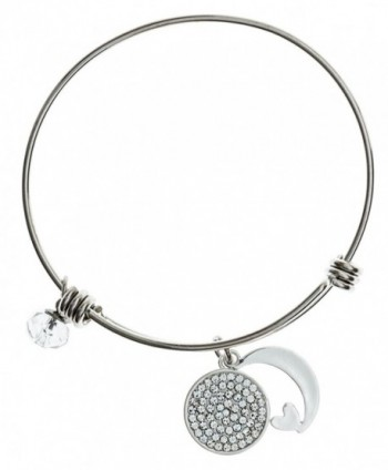 Carly Creation Silver Expandable Bracelet