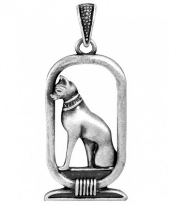 Bastet Pendant - Collectible Medallion Necklace Accessory Jewelry - CZ112T6I7S7