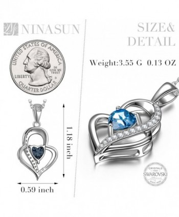 NINASUN Sterling Swarovski Anniversary Girlfriend