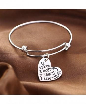 Teachers Bangles Bracelets Teacher Jewelry