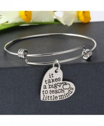 Teachers Bangles Bracelets Teacher Jewelry in Women's Bangle Bracelets