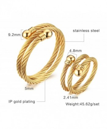 Stainless Double Bracelet Jewelry Plated