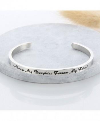 Meibai Daughter Forever Stainless Bracelet