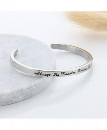 Meibai Daughter Forever Stainless Bracelet in Women's Cuff Bracelets