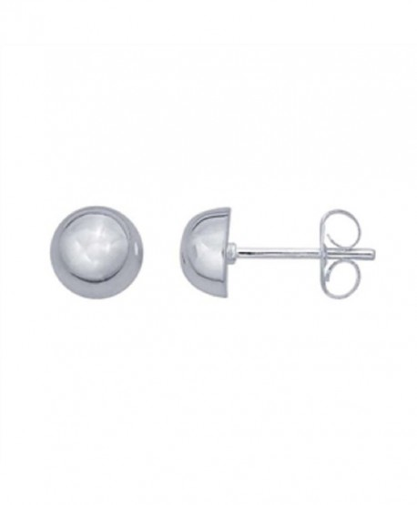 Sterling Silver Half Earrings Available - CS18C5M60Q2
