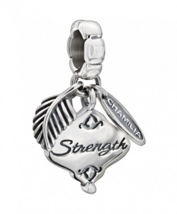 Authentic Chamilia Sterling Silver Charm Her Gift of Strength 2010-3146 - C811N0GQE5D