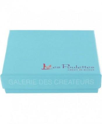 Poulettes Jewels Plated Bracelet Feather in Women's Wrap Bracelets