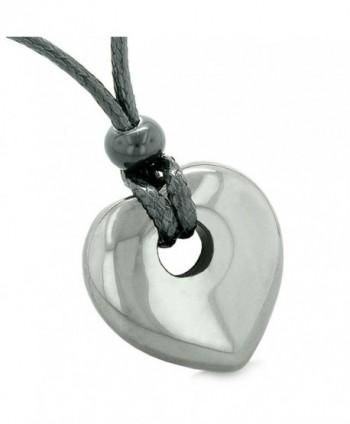 Hematite Gemstone Pendant Spiritual Necklace