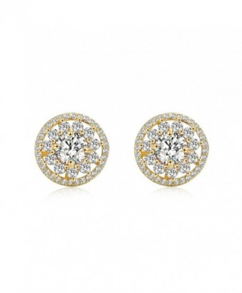 OSIANA Womens Dangle Stud Hoop Earrings with CZ Crystal Water Drop Earrings - Stud Gold - CQ182MNLQAG