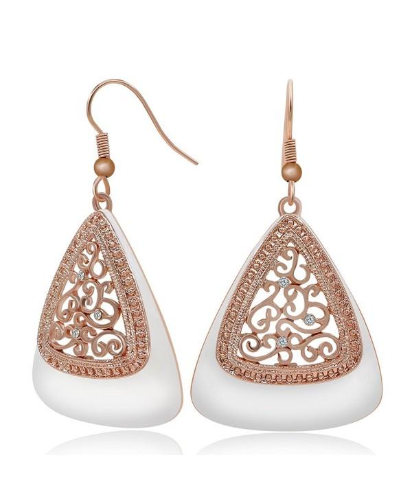 Kemstone Vine Drop Dangle Earrings - CN12HLRJ255