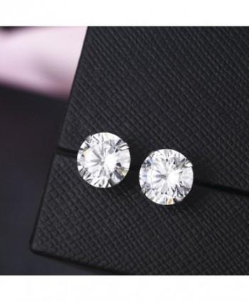 SBLING Platinum Sterling Earrings Swarovski
