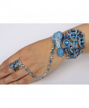 YACQ Jewelry Crystal bracelet attached