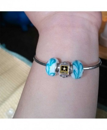 Character Sapphire September Birthstone Bracelets in Women's Charms & Charm Bracelets